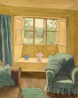 Interior of a Cottage at Brockhampton, Gloucestershire