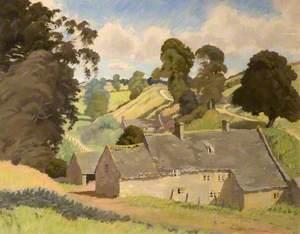 Cotswold Valley near Brockhampton, Gloucestershire