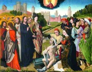 Five of the Miracles of Christ: The Raising of Lazarus
