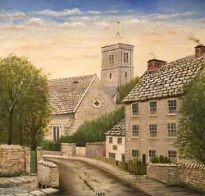 Church Hill from the Lower End, Swanage, Dorset