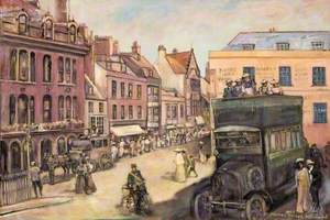 St Thomas Street, Weymouth, Dorset, 1905