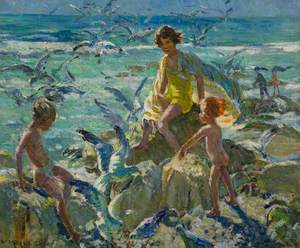 Children on the Rocks