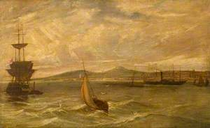 Dundee from the Roadstead, 1834