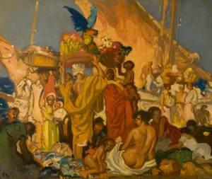 The Market Place, Algiers