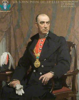 Sir John Phin (1881–1955), DL, JP, LLD, Lord Provost of Dundee (1935–1940)