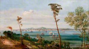Dundee from East of Craighead, East Newport