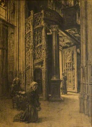 Interior, Saint-Maclou, Rouen