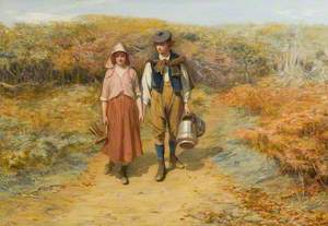 To the Fields I Carried Her Milking Pails