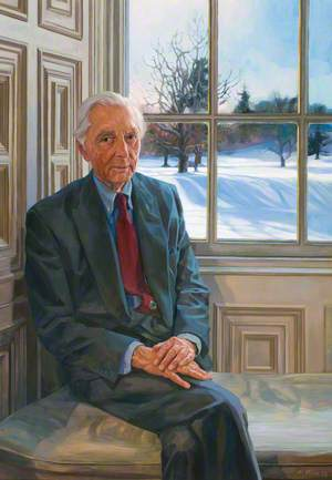 David George Coke Patrick Ogilvy (b.1926), 8th Earl of Airlie