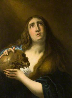 Saint Mary Magdalen with a Skull