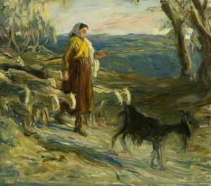 The Mountain Shepherdess