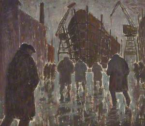 Figures in a Shipyard