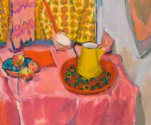 Still Life with a Yellow Jug