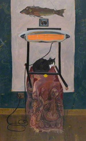 Still Life with a Cat