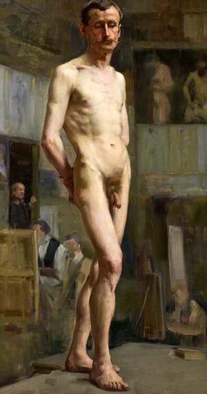Male Nude Figure