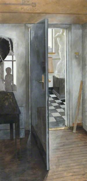 View onto Fine Art Corridor, Duncan of Jordanstone College