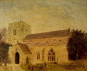 Whickham Church, County Durham