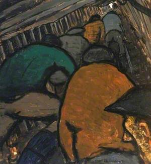 Miners in the Roadway