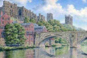 View of Durham Cathedral on its 900th Anniversary