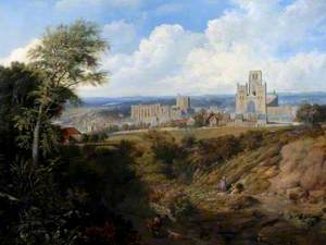 View of Durham Cathedral from Crossgate Peth