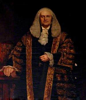 Rt Hon Farrer (1837–1899), 1st Baron Herschell, CGB, MP for Durham (1874–1875)