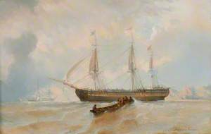 A Ship and a Longboat