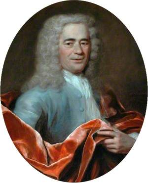 Portrait of a Gentleman with a Red Cloak