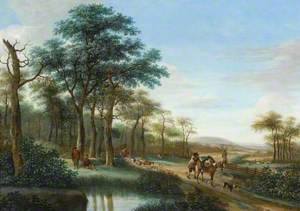 Scene at the Edge of a Wood