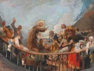 Saint Anthony Raising a Dead Man