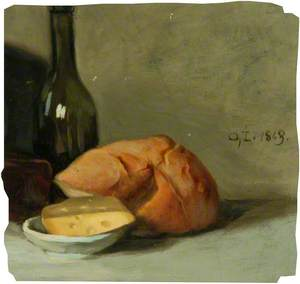 Still Life with Bread and Butter