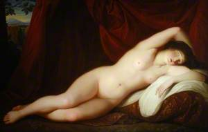 Sleeping Female Nude
