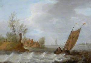 View at the Mouth of a River
