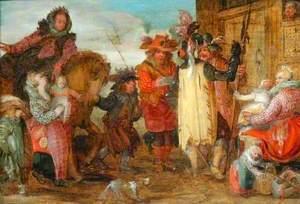 Joanna of Flanders Freeing Prisoners