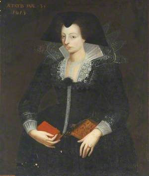 Portrait of a Lady with a Book, Aged 35