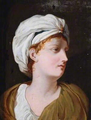 A Girl in a Turban