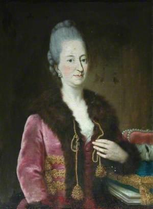 Portrait of a Polish Noblewoman in a Fur-Trimmed Coat