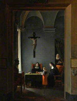 A Reading Lesson in a Convent