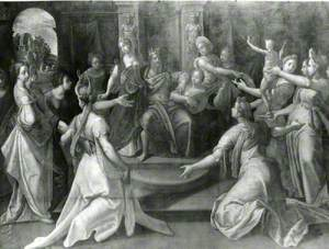 Solomon Surrounded by His Wives