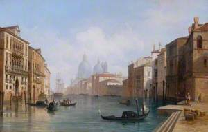 View on the Grand Canal, Venice, Italy