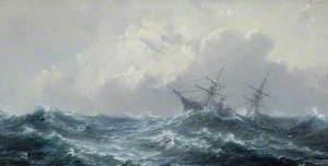 A Ship in a Stormy Sea