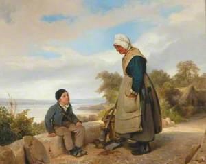 Peasant Woman and Boy
