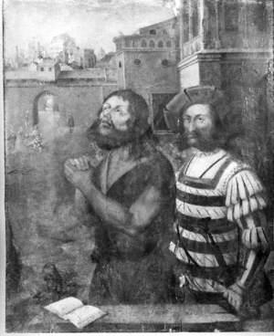 Saint John the Baptist before His Execution