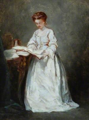 Girl in White, Reading