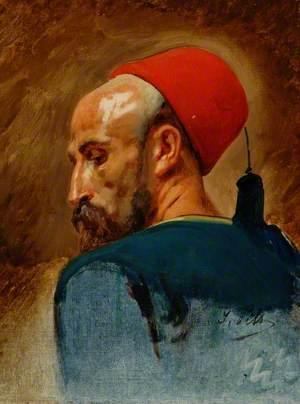 Head of an Arab in a Fez