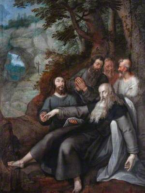 The Death of Saint Anthony Abbot