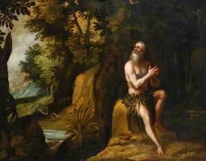 St Paul the Hermit in the Desert