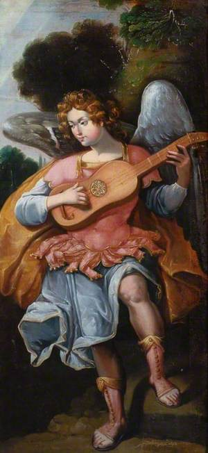 An Angel with a Guitar
