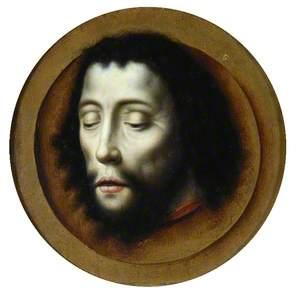 The Head of Saint John the Baptist on a Gold Dish