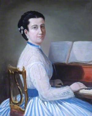 A Lady at a Piano
