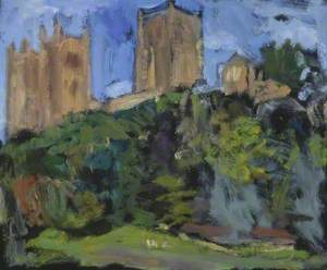 Durham Cathedral from the Riverbank